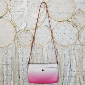 Coach Pink Ombre Swingpack Crossbody Purse
